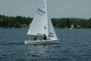 My first sail and first race of 2012