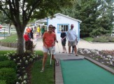 Mixed in with the First Windmillers' Mini-golf Championship
