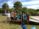 Sea Scouts with new coach Lisa Fath