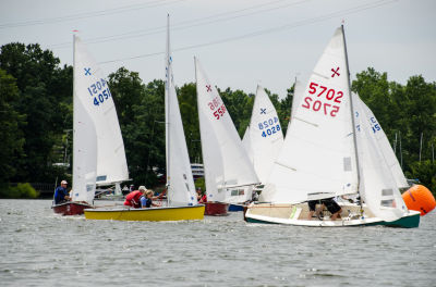 Tight Action at Offset Mark (LK photo)
