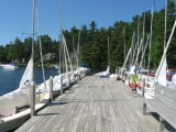WYC Dock; Waiting for Wind
