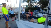 Meg, Sandy, Lisa, Sarah & Phil training for the next regatta!