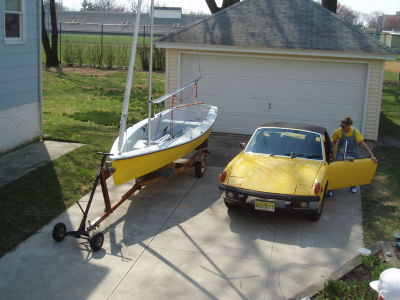 yellow - boat, car, garage, shirt