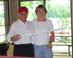 Bernie and Julie--second race winners!