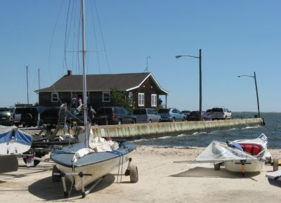 Bellport Bay YC on the south shore of Long Island