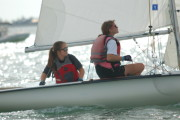 Too cool! Future Olympic sailors.
